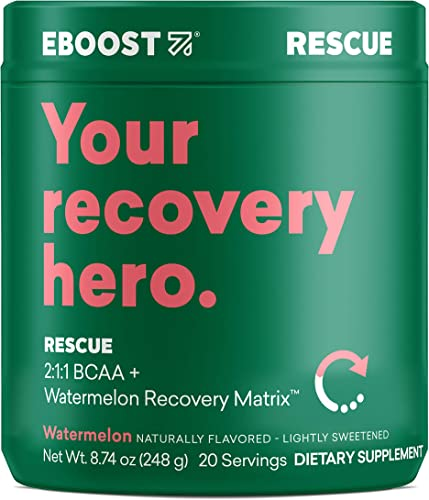 Rescue Natural Vegan 5G BCAA Recovery Powder Supplement