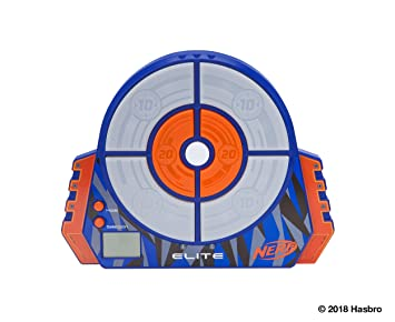 picture about Nerf Gun Targets Printable called NERF Elite Electronic Aim Toy, Classic