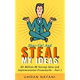 Shut-Up! And Steal My Ideas: 20 - Million Dollar Startup Ideas And Implementation Frameworks - Part 1