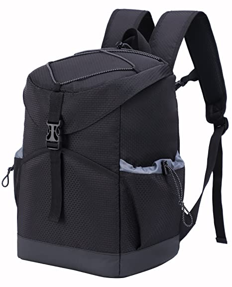 6c6eac277dbb MIER Insulated Leakproof Cooler Backpack Bag Large Capacity Stylish Picnic  Lunch Cooler for Men