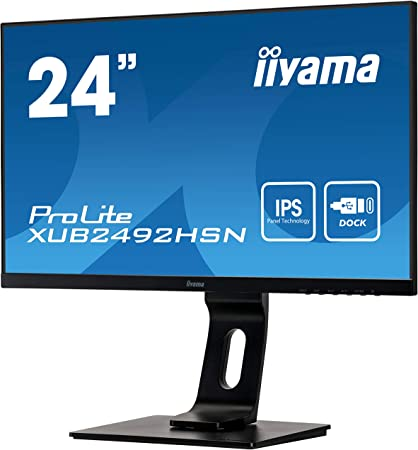Iiyama Prolite Xub2492hsn B1 60 5cm Ips Led Monitor Computer Zubehör