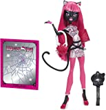 Monster High Toy - Scare Mester Catty Noir Deluxe Fashion Doll - Daughter of a Werecat