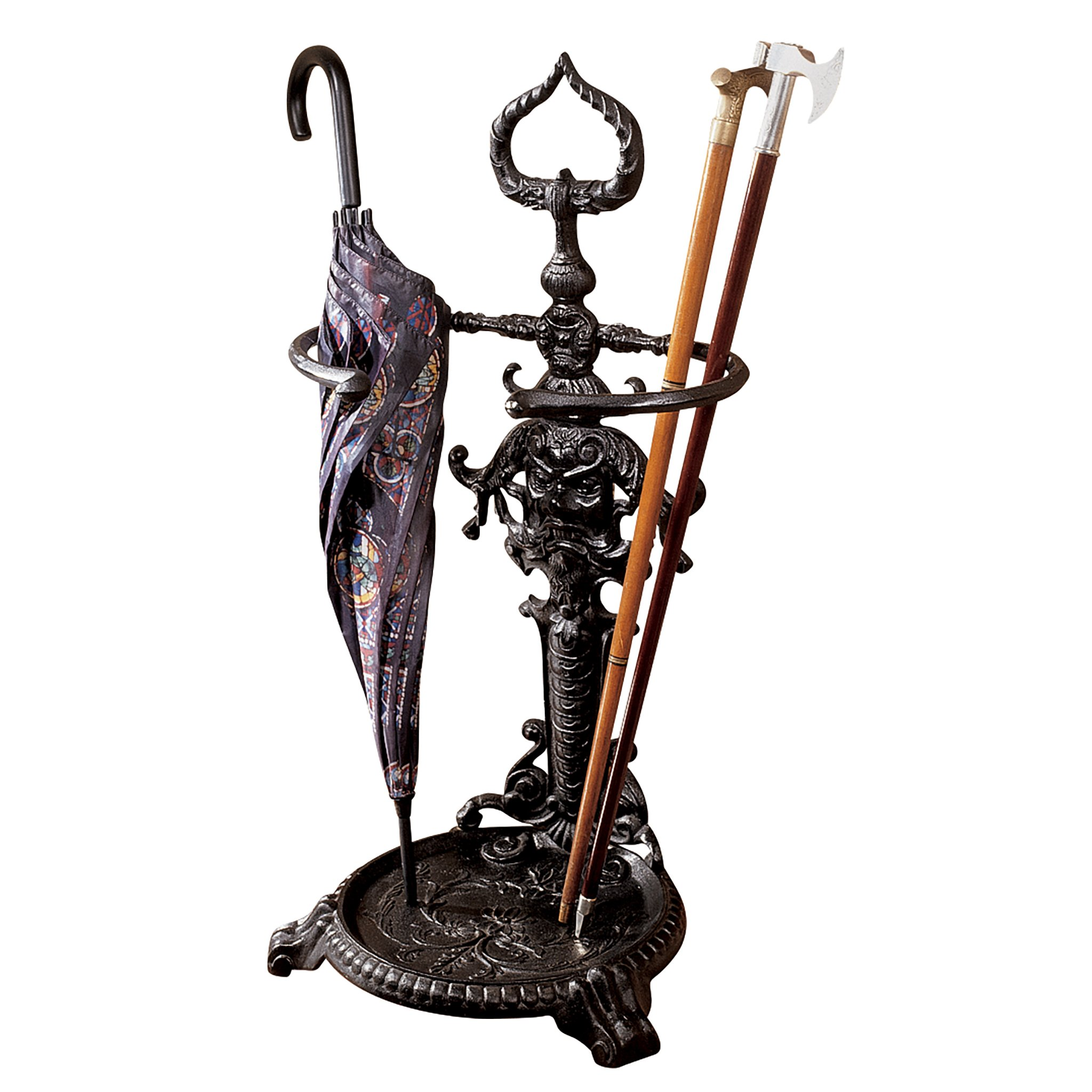 Design Toscano The Hartwig Walking Stick/Umbrella Stand by Design Toscano