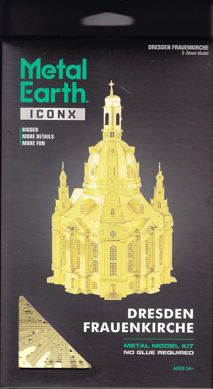 Dresden Frauenkirche Build Create Steel Sheet Bulding Art Metal Earth ICONX