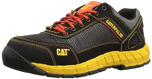 95f0ca5ec14 Caterpillar para Hombre Shift Comp Toe Zapatos de Trabajo, Gris/Anaranjado,  10 D