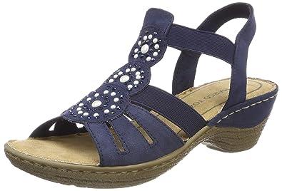 Womens 28005 Wedge Heels Sandals Marco Tozzi TUQg7NIw