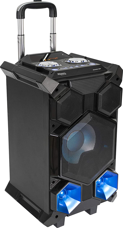 Ibiza - Splbox350-Port - Sound Box Portátil Autonomo 350 W