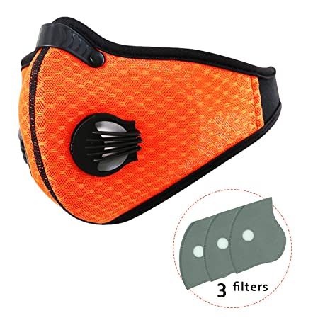 Back To Search Resultssecurity & Protection Dust Mask 2 Activated Carbon Filters N95 Mask Respiratory Protection Anti Pollution Exhaust Gas Pollen Allergy Pm2.5 Woodworking Masks