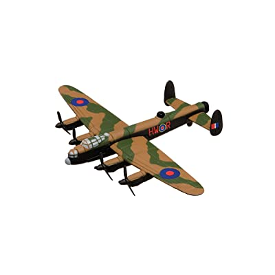 Corgi Showcase Avro Lancaster Military Aviation Die-Cast Metal Model Fit The Box Scale CS90619: Toys & Games