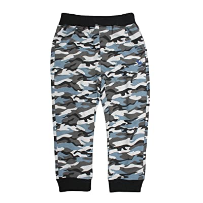 Abalacoco Big Boys' Kids Camouflage Military Cotton Pull-On Soft Pants Stretch Waist Trousers 4-8T