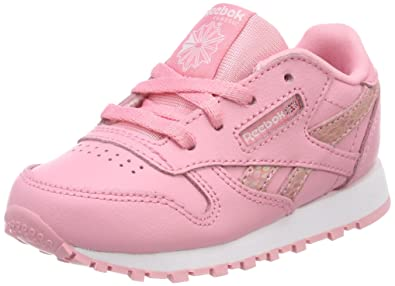 f60c0565dba Reebok Girls  Cl Leather Spring Fitness Shoes  Amazon.co.uk  Shoes ...