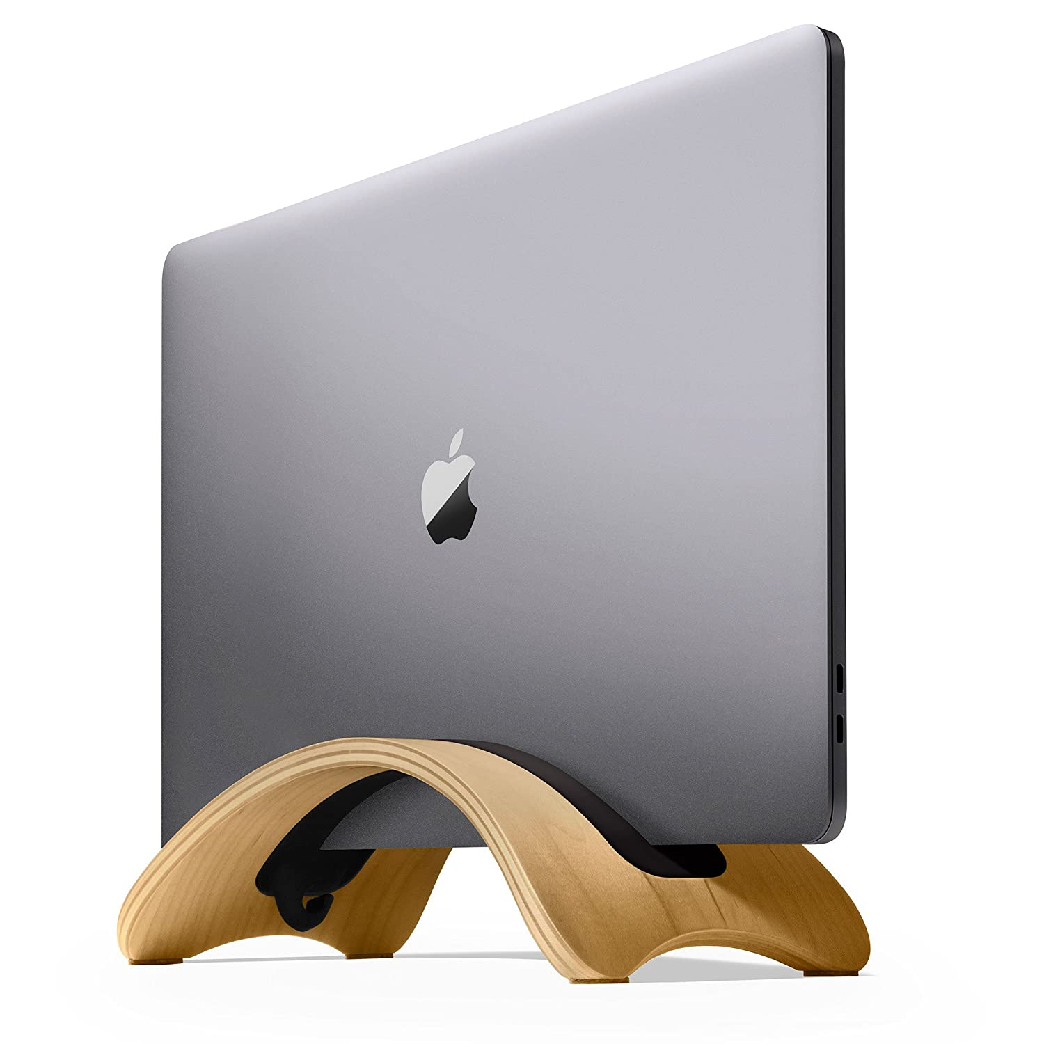 Twelve South BookArc mod for MacBook, birch | Modern wood desktop stand for current MacBook models