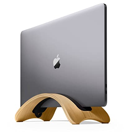 eacaed863be Amazon.com: Twelve South BookArc mod for MacBook, birch   Modern wood  desktop stand for current MacBook models: Computers & Accessories