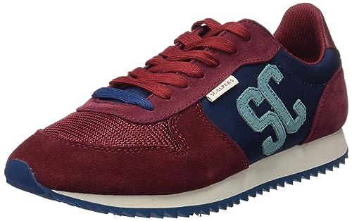 Scalpers SC Insignia, Zapatillas para Hombre, BOURDEAUX, 44 EU: Amazon.es: Zapatos y complementos
