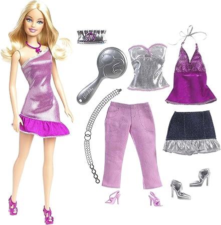 Barbie My Fabulous Life Go Shopping Girls Fun Educational Card Game