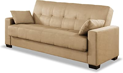 Serta CC-BLY-S3-M2-KH Boston Convertible Sofa