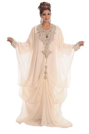 Amazon.com: MaximCreation Women\'s Fancy Abaya Wedding Gown: Clothing