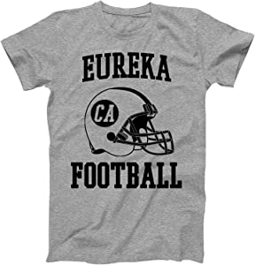 Vintage Football City Eureka Shirt for State California with CA on Retro Helmet Style