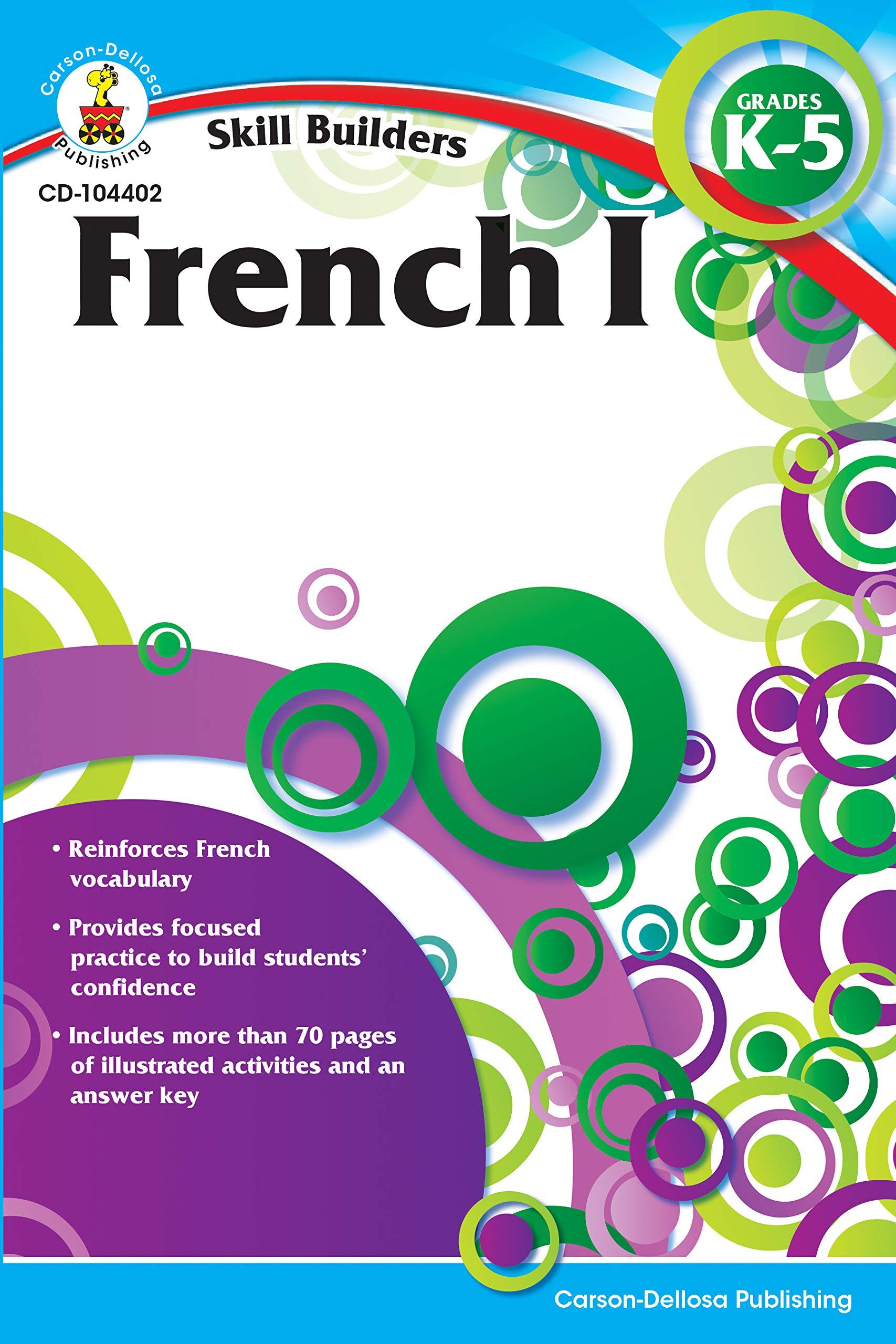 french i grades k 5 skill builders