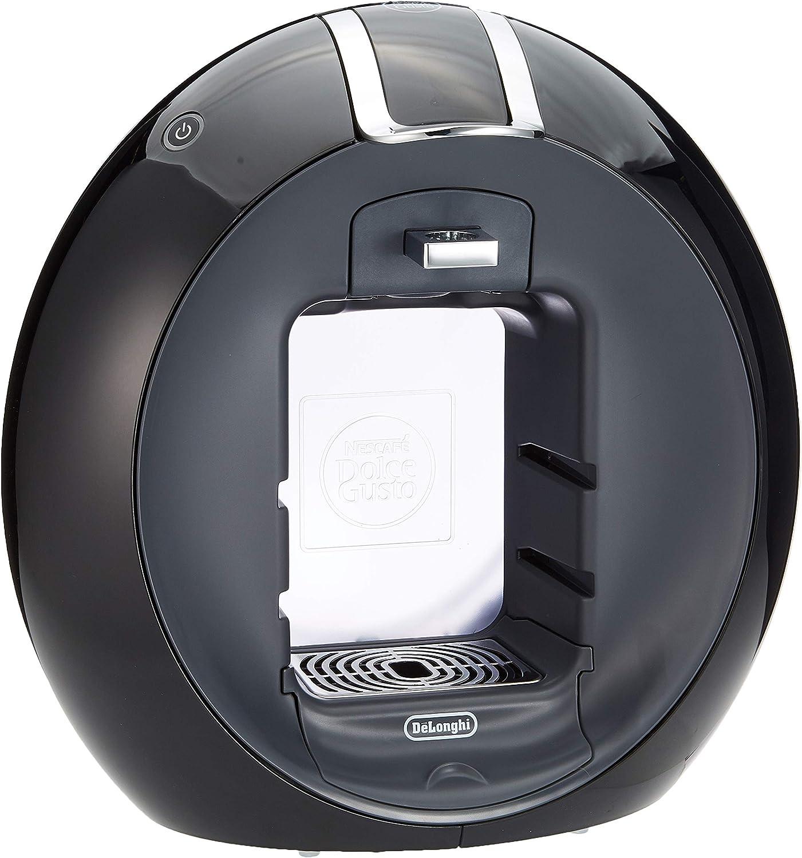 De'Longhi Dolce Gusto Circolo EDG605.B - Máquina de café, semi-automática, 1500 W, 1.3 L, acero inoxidable, negro