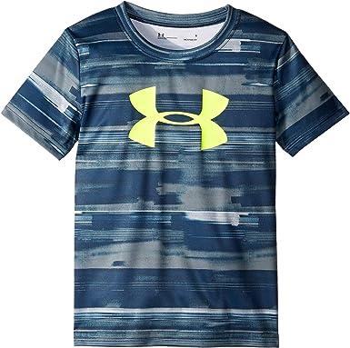 f1c1ce092 Amazon.com  Under Armour Kids Boy s Latitude UA Logo (Little Kids Big Kids)   Clothing