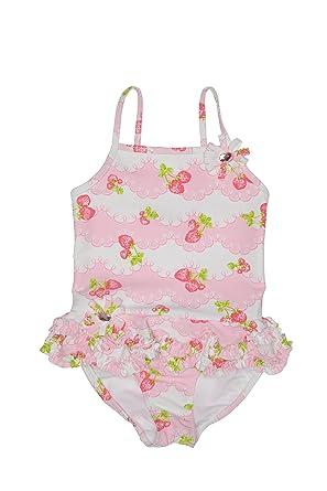 10f0a96926a1f Amazon.com  Kate Mack Girl s 2-6X Strawberry Shortcake 1-Piece ...