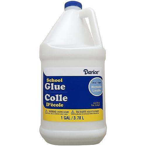 Darice 1 Gallon Clear Gallon School Glue