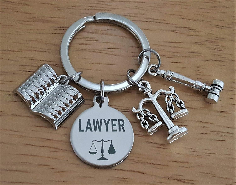 Llavero de abogado, llavero de abogado abogado, báscula de ...