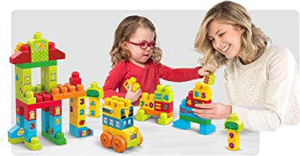 Mega Bloks Build /'N Learn Math Building Set
