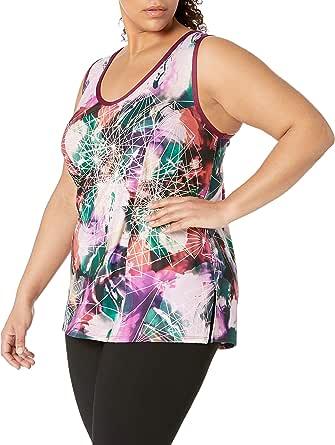 Rainbeau Curves Women's Plus Size Eva Print Tank