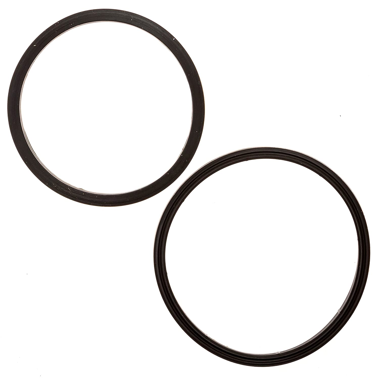 Rubber Seal Fittings Compatible with Camco RhinoFLEX//Revolution//Easy-Slip Mission Automotive 8-Pack of RV Sewer Hose Replacement Gaskets Equivalent to 39834