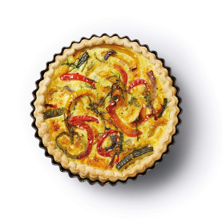 WENTS silicone torta stampo rotondo tortiera Rotonda Stampo Crostata 8pcs Tampi in Silicone