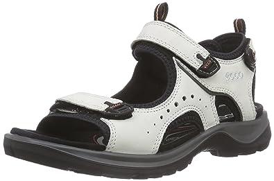 Ecco Kana Weiß, Damen Sandale, Größe EU 42 - Farbe Shadow White Damen Sandale, Shadow White, Größe 42 - Weiß