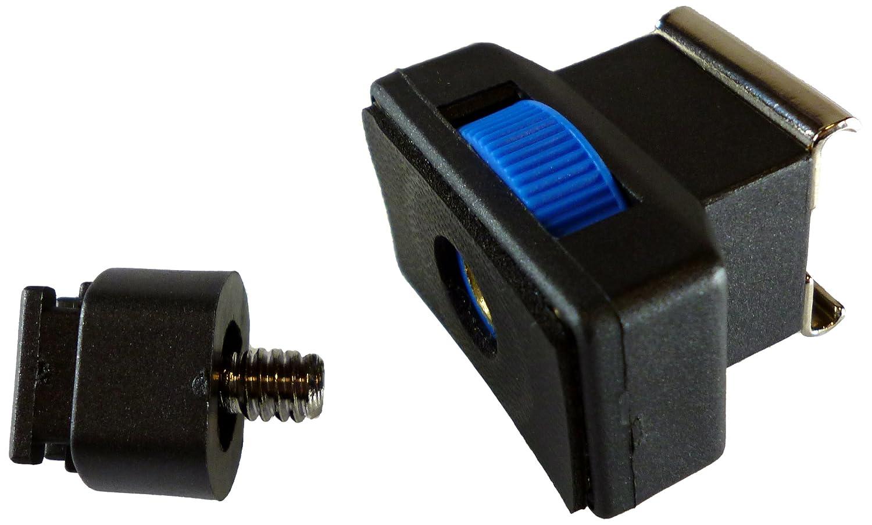 Black Rotolight Universal Hot Shoe Adapter to PC Sync Camera Flash