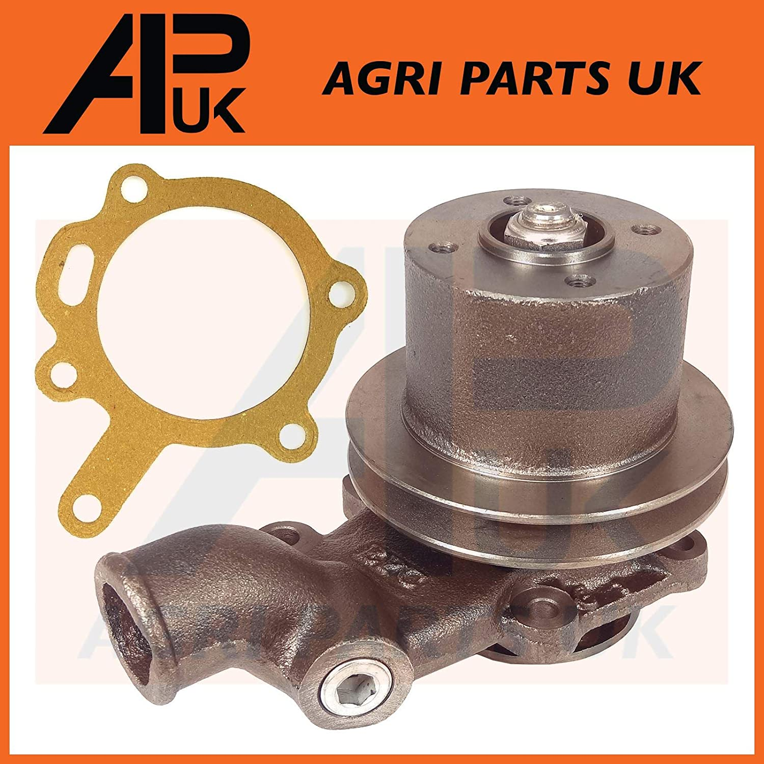 APUK Massey Ferguson 165 168 175 178 185 188 240 261 Tractor Water Pump with Pulley Agri Parts UK Ltd