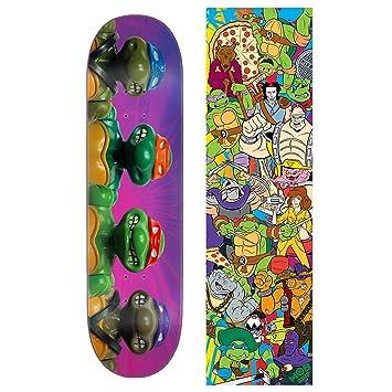 Santa Cruz - Tabla de Skateboard, diseño de Tortugas Ninja ...