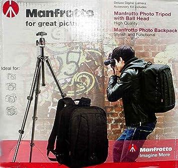 Manfrotto Veloce V mochila y trípode mkc3-p01 Compact Bundle Pack: Amazon.es: Electrónica