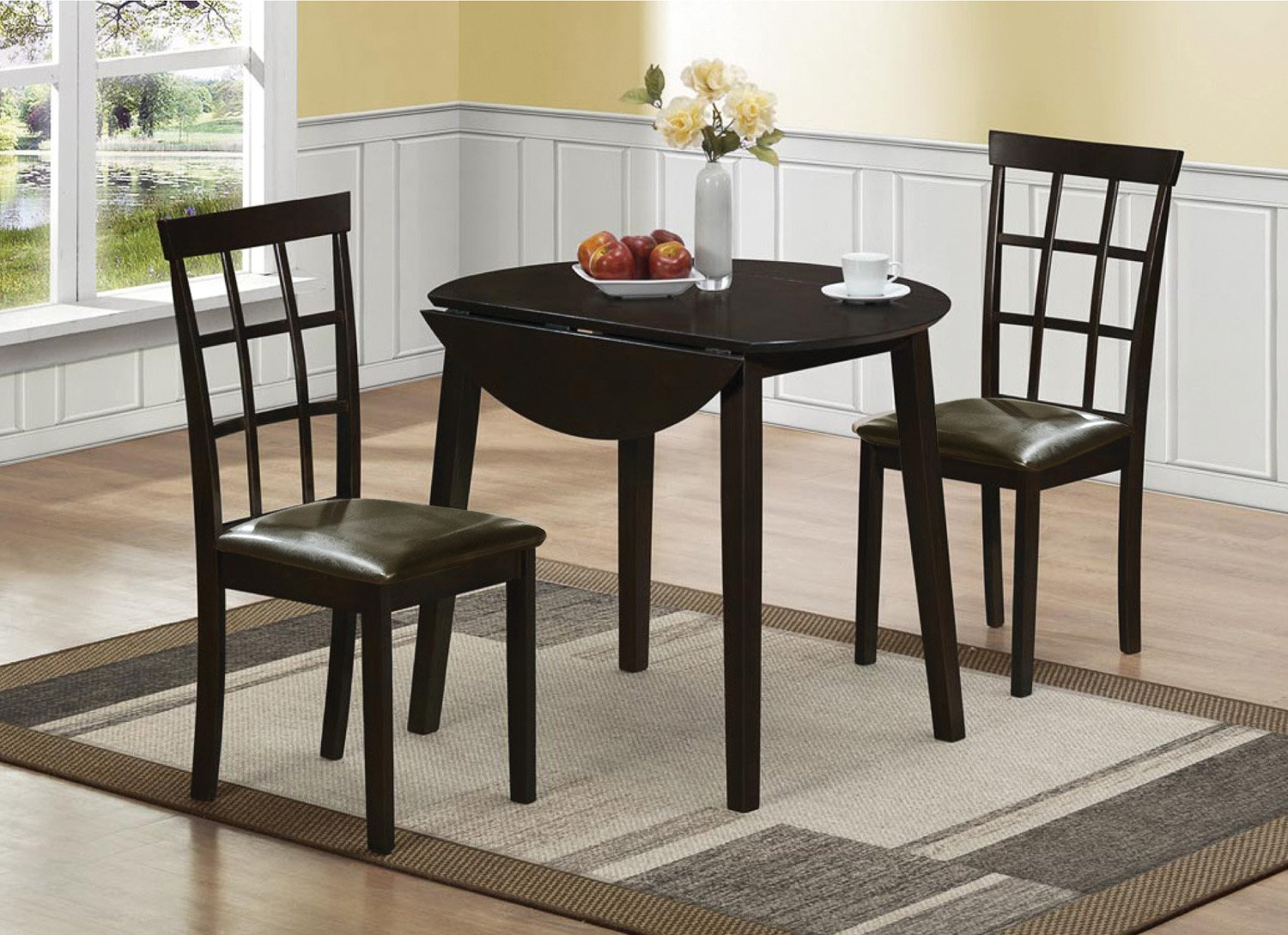 Home Source Drop Leaf Table