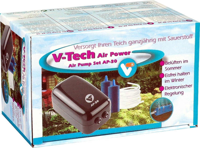 VT, aérateur complet pour bassin d'agrément, Air Pump Set AP-30, 145051 Velda
