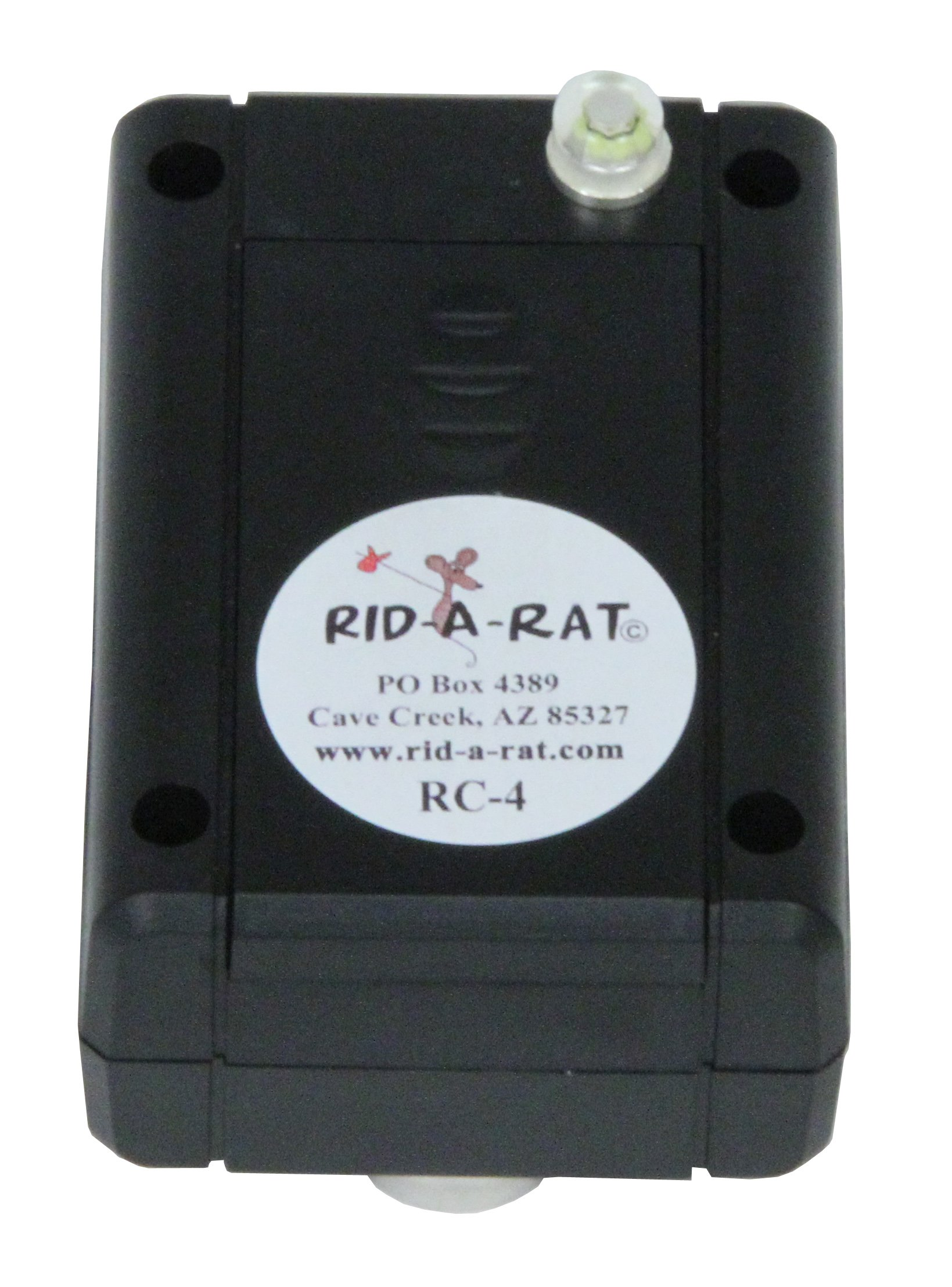 Rid-a-Rat Packrat and Rodent Deterrent Device, Model RC-4 by Rid-a-Rat