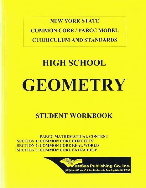Amazon com : High School Geometry NY State Common Core / PARCC Model
