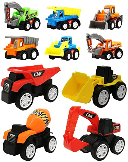 Amazon Com Winone Toy Cars For Toddlers Boys Kids Pull Back