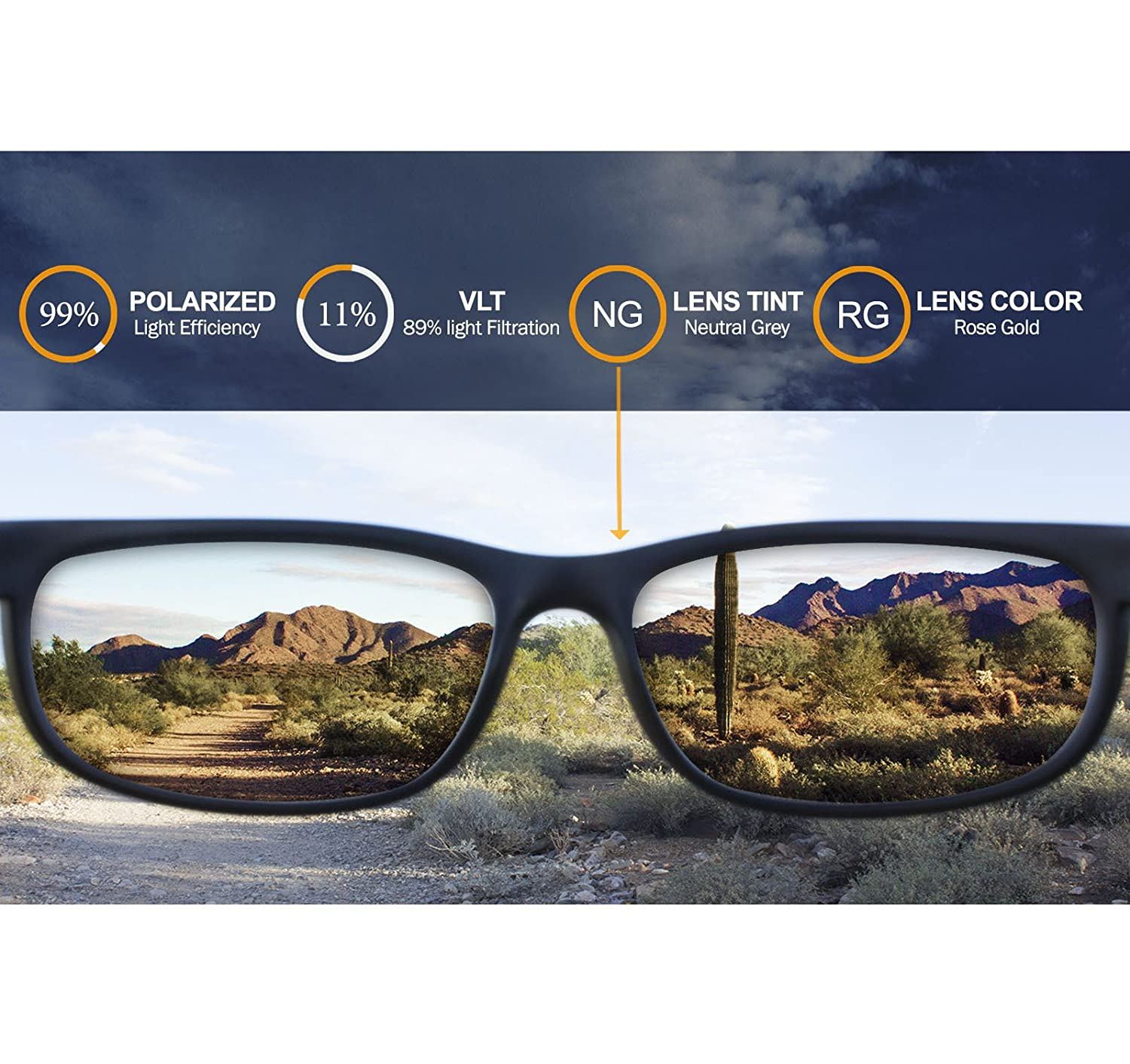 IKON Polarized Replacement Lenses for Costa Del Mar Howler Sunglasses 12 Colors