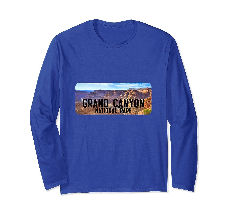 Grand Round Canyon National Arizona Park Long Sleeve Shirt-ah my shirt one gift