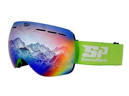 15b656dd4fe Amazon.com   SnowPhorce Professional Ski   Snowboard Goggles