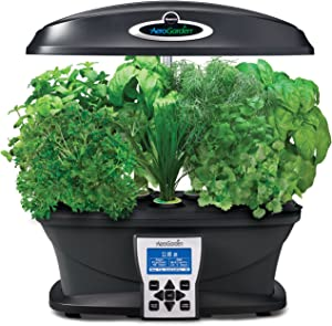 AeroGarden Ultra with Gourmet Herb Seed Pod Kit