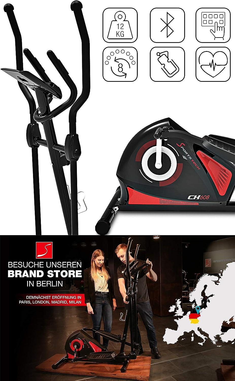Sportstech CX625 - Smartphone Compatible con la aplicación, 24 kg ...