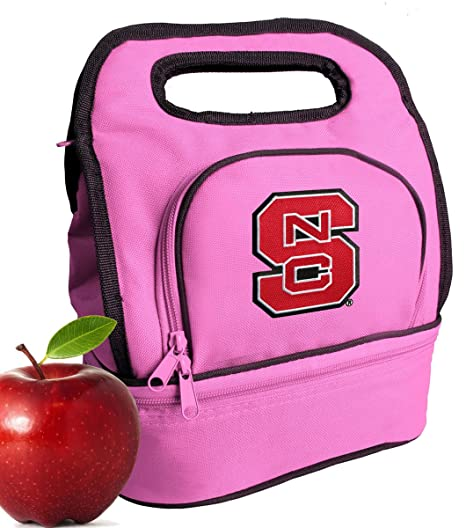 Broad Bay NC State Lunch Bag Official NCAA NC State Wolfpack Lunchboxes