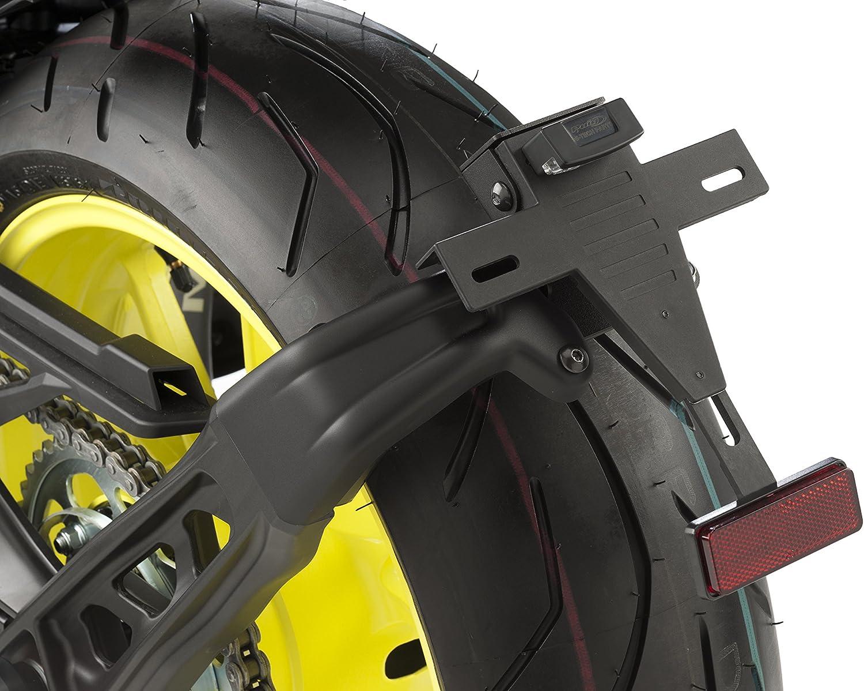 Puig Kennzeichenhalter 9394n Für Yamaha Mt 09 17 18 Yamaha Schwarz Auto