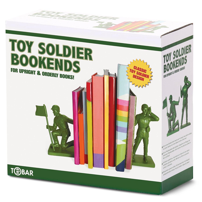 Sujetalibros con diseño de soldado de juguete Tobar